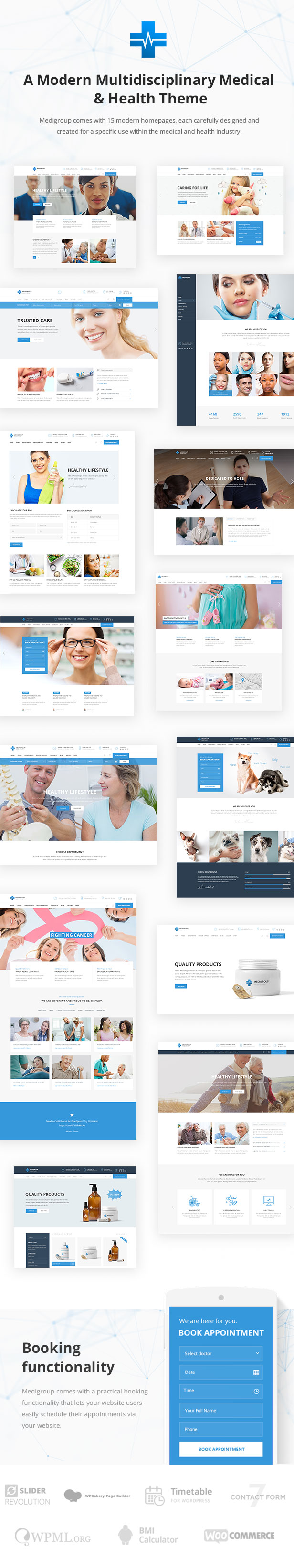 Medigroup - Medical and Health Theme - 1