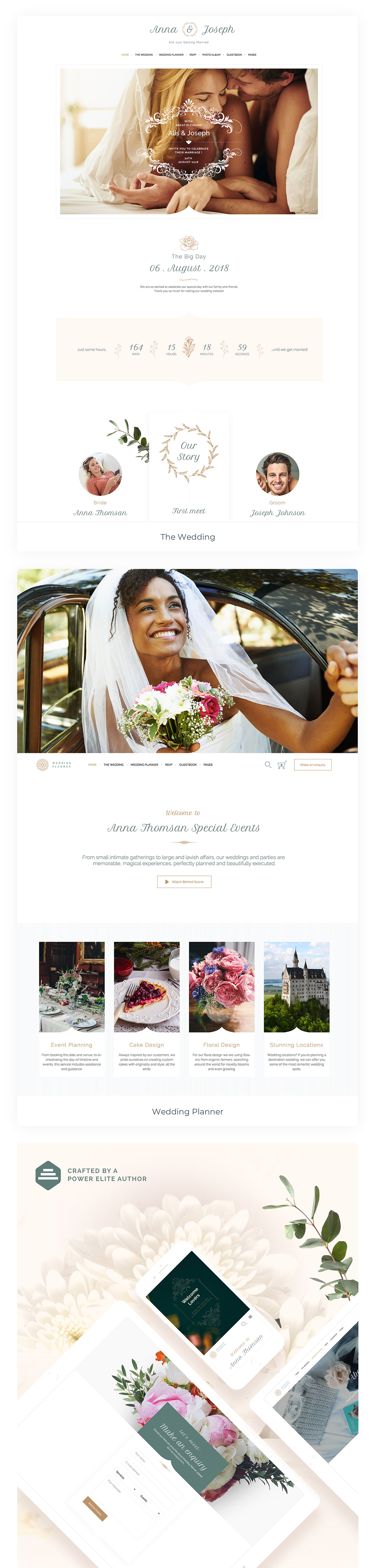 Ali S Wedding.Alis Wedding Planner By Vamtam Themeforest