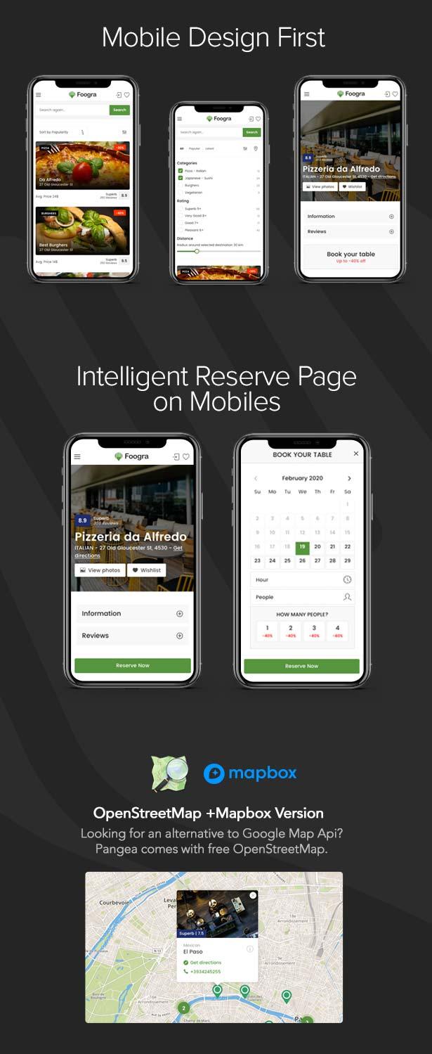 Foogra - Restaurants Directory & Listings Template