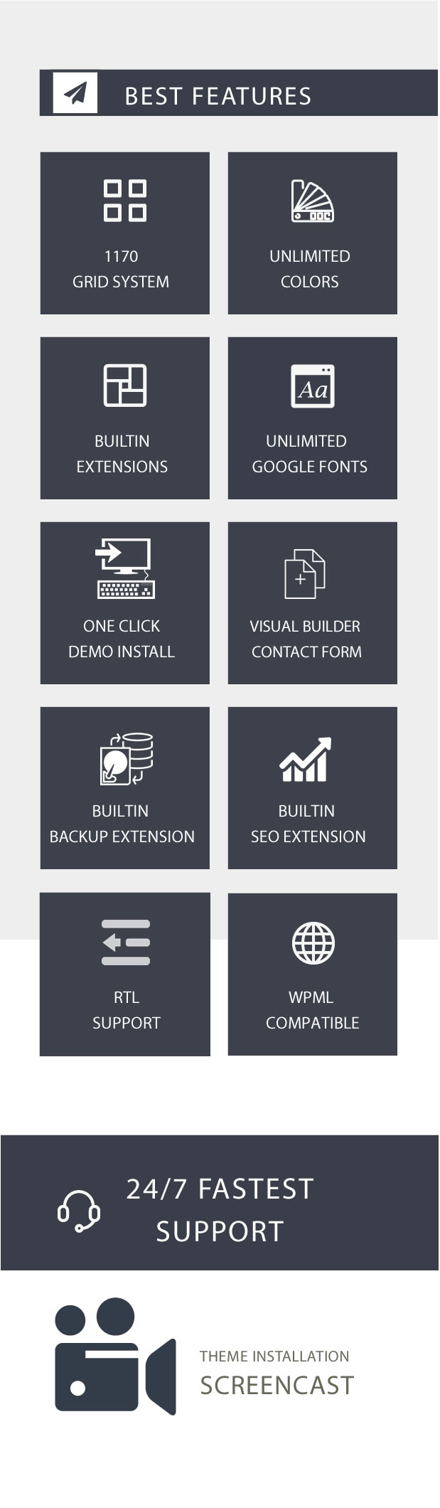 Modular Multi Concept Agency Business WordPress Theme by XpeedStudio