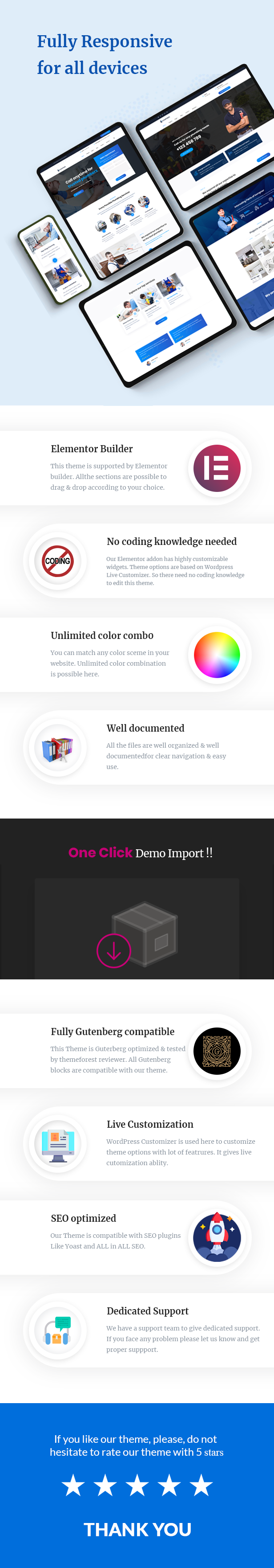 Kempner - Plumber WordPress Theme - 3