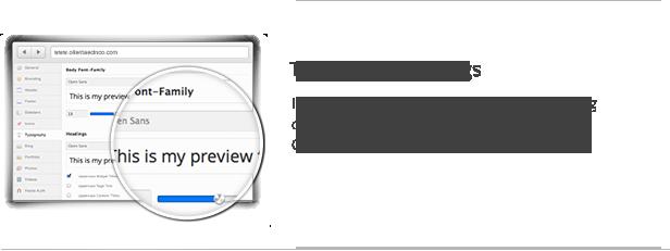 Typography Settings