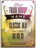 Vintage Flyer Event