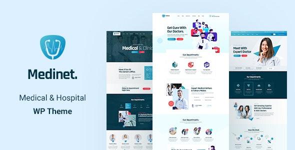 Medinet - Medical and Health WordPress Theme