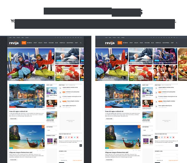 Revija - Premium Blog/Magazine HTML Template - 2