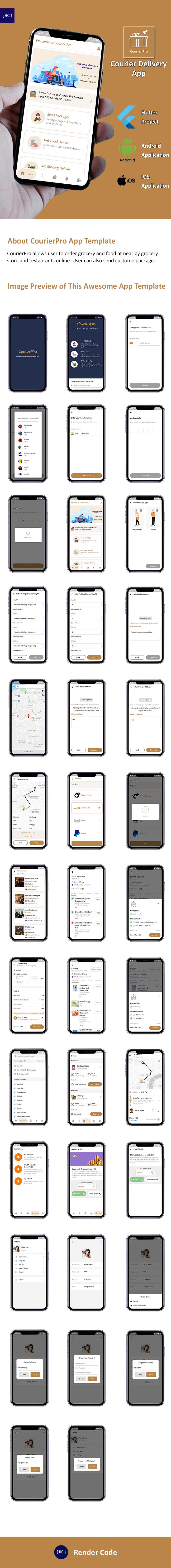 StunningKit - Biggest Flutter App Template Kit (15 App Template) - 4