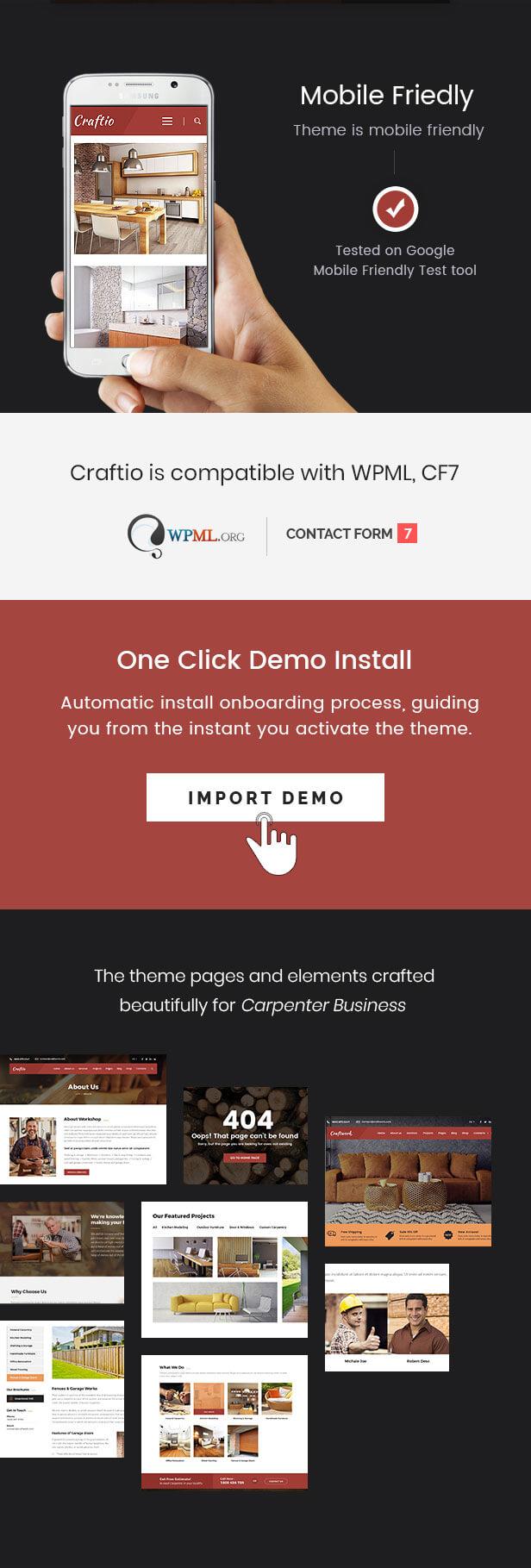 Craftio - Carpenter WordPress Theme - 3