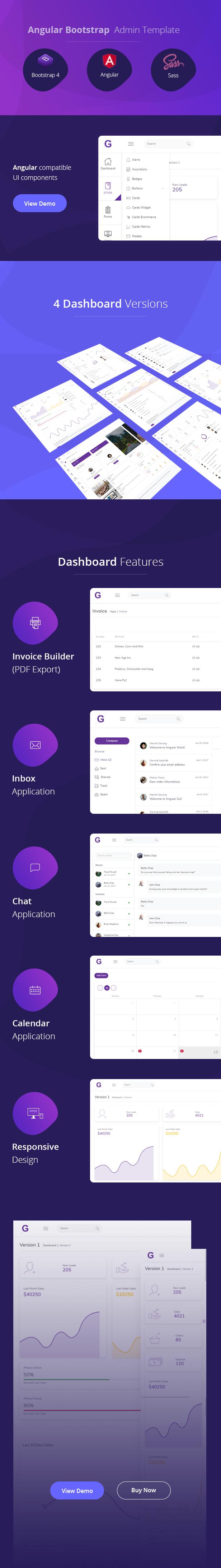 Gull - Angular 8+ Bootstrap 4 Admin Dashboard Template by mh_rafi
