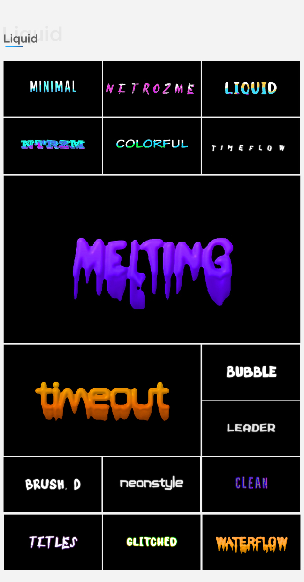 Motion Titles Library - Animated Text Package - 18