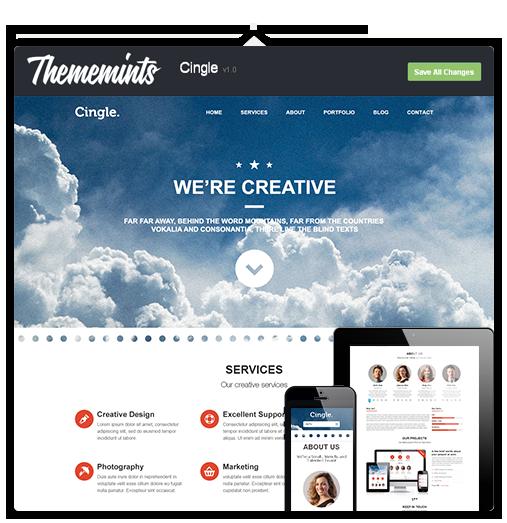 Cingle | Responsive One Page WordPress Theme - 7