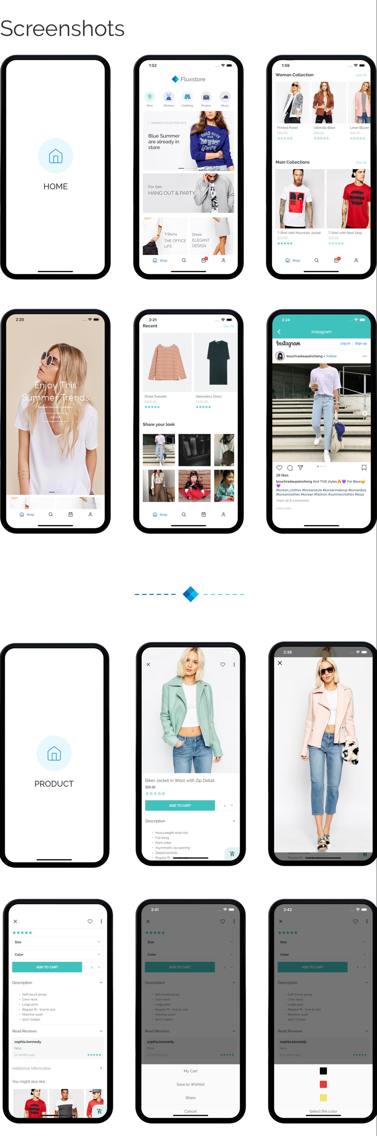 Fluxstore Multi Vendor - Flutter E-commerce Full App - 8