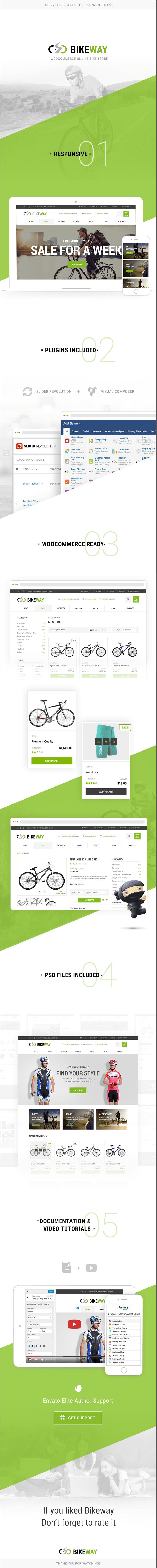 BikeWay - Sport Shop WooCommerce WordPress Theme by Themes Zone