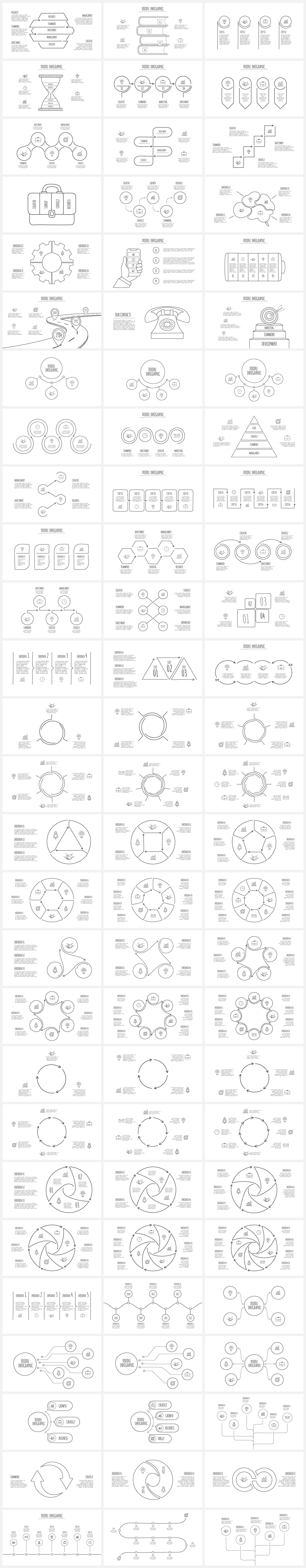 Multipurpose Infographics PowerPoint Templates v.5.0 - 143