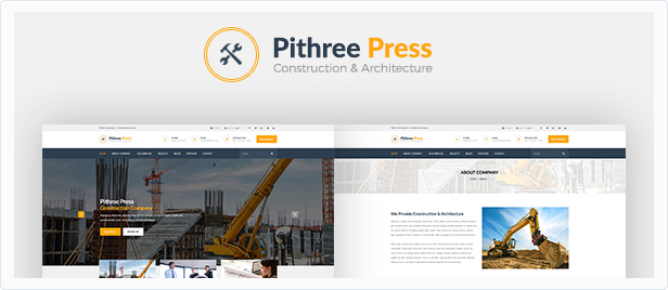 Pithree – Construction & Building WordPress Theme