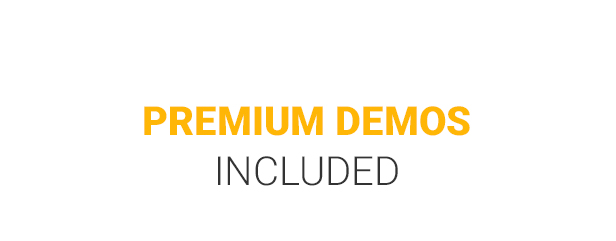 Premium demos included