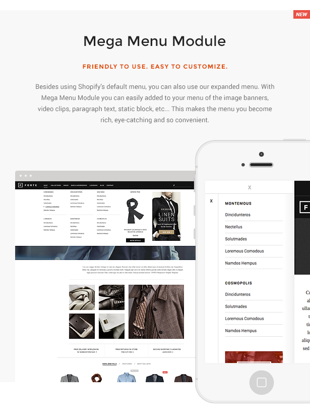 FORTE Responsive Shopify Template