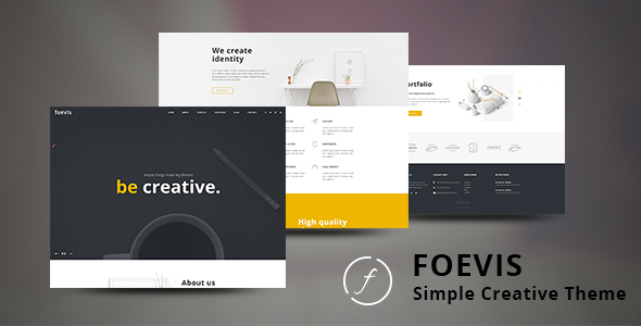 Foevis - A WordPress Theme For Creative Agency - Portfolio Creative