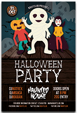Halloween Party Flyer - 13
