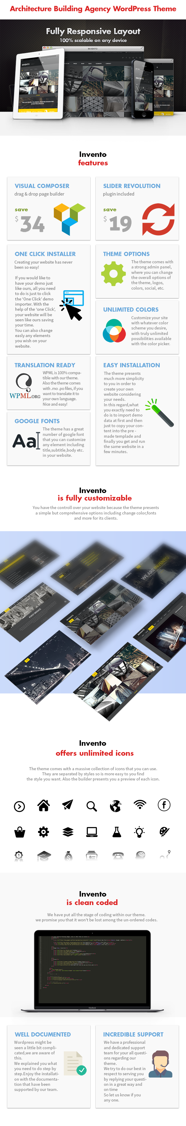 Invento | Architecture Building Agency Theme - 6