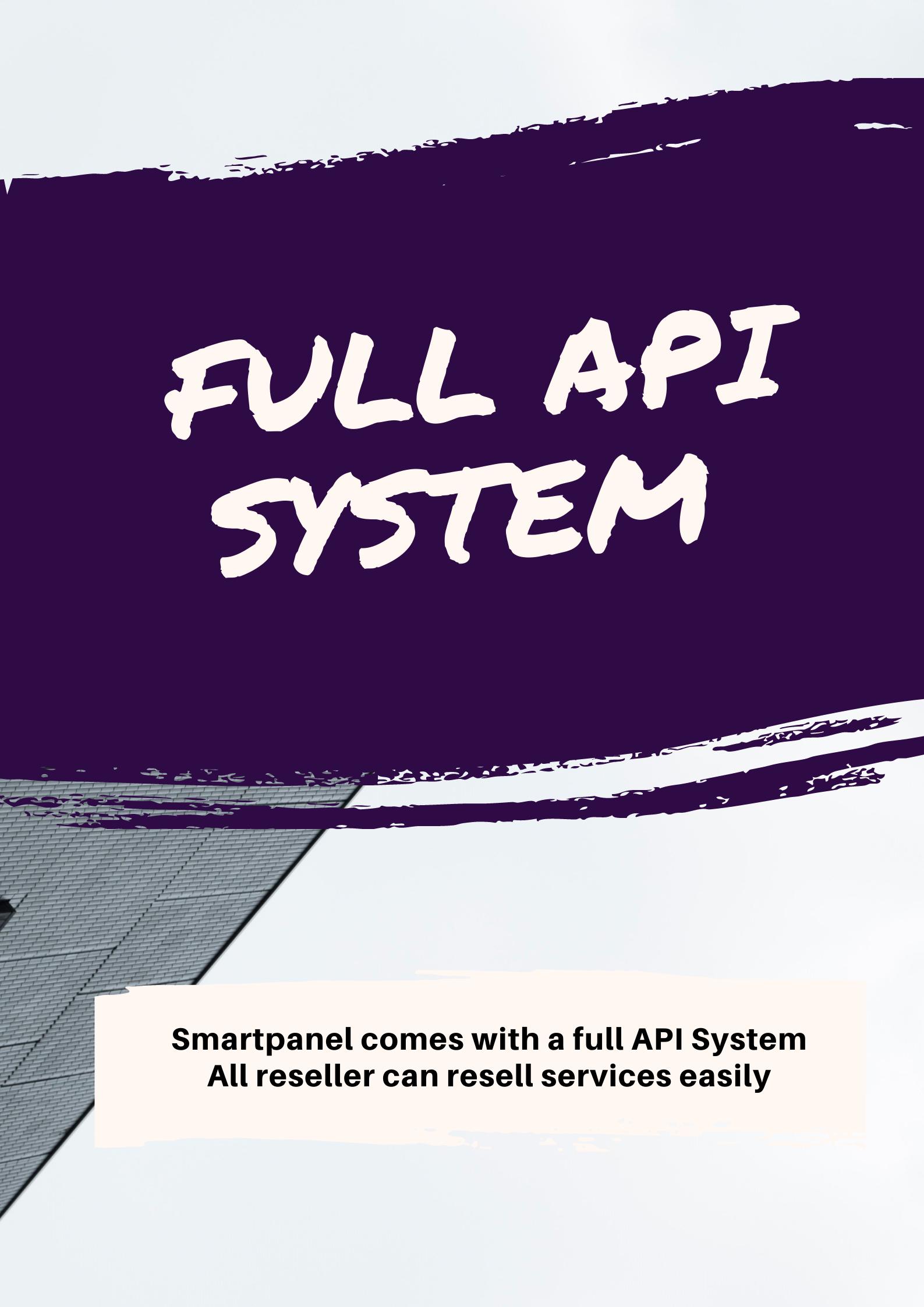 Smartpanel - Full API