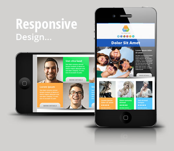 Central  Responsive Email Newsletter Template By Pophonic  Themeforest