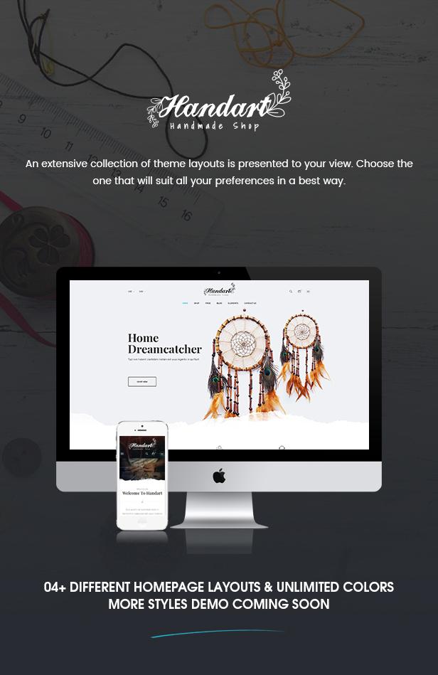 HandArt – Plantilla PrestaShop 1.7 – Givacom