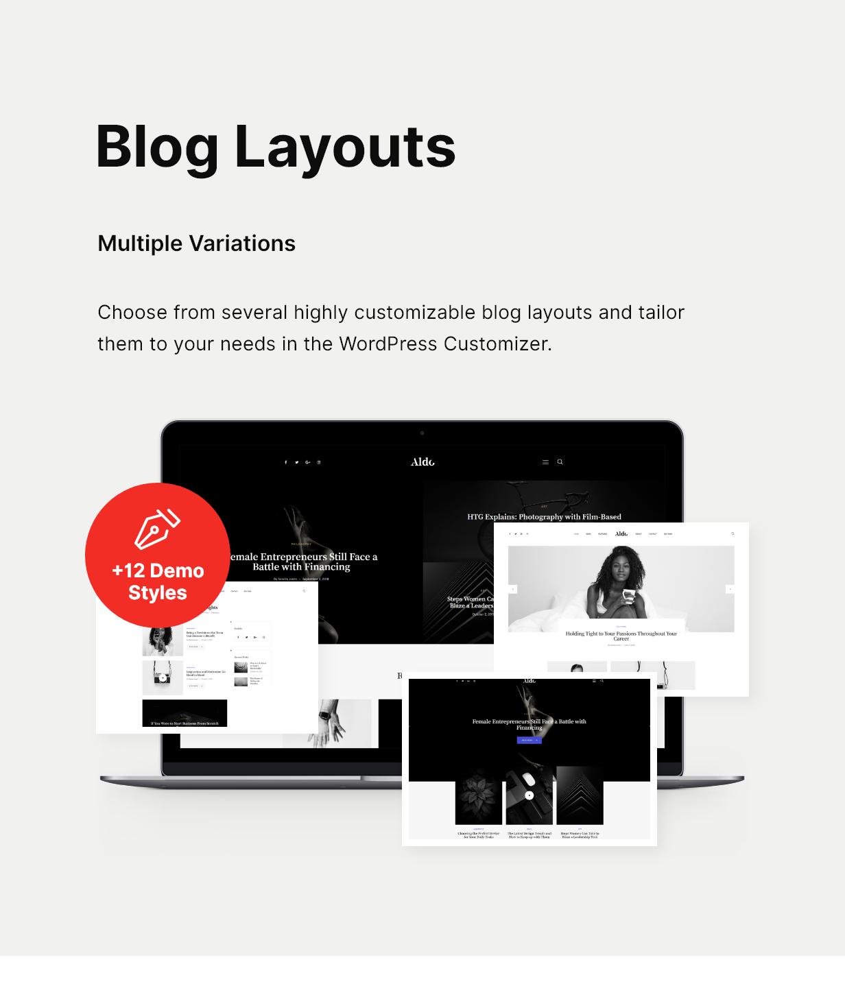 Aldo | Gutenberg Blog WordPress Theme - 8