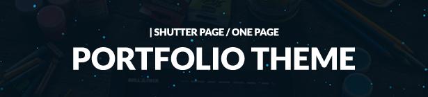 Bellatrix - WordPress Portfolio Theme - Shutter One Page