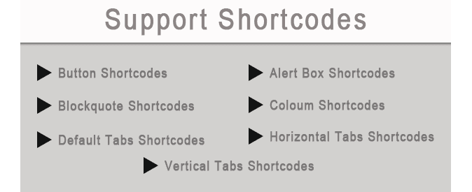 shortcode blogger template