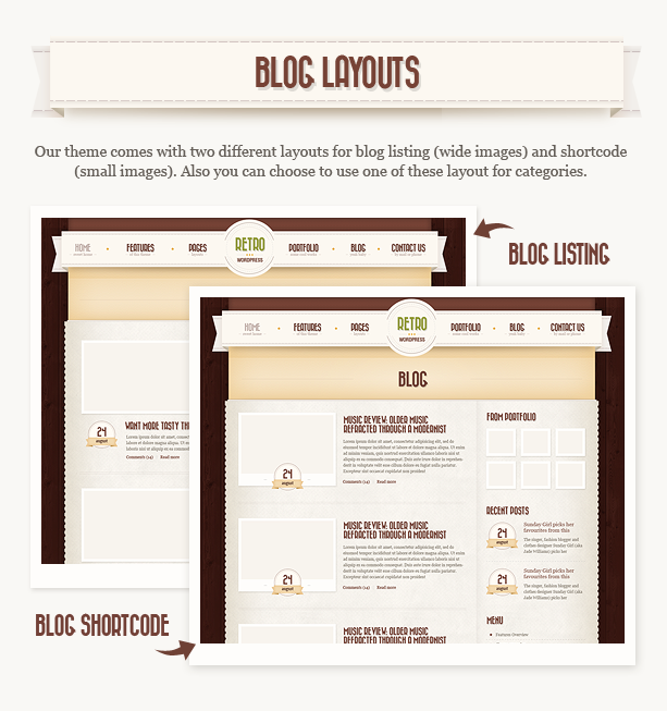 Retro WordPress Theme