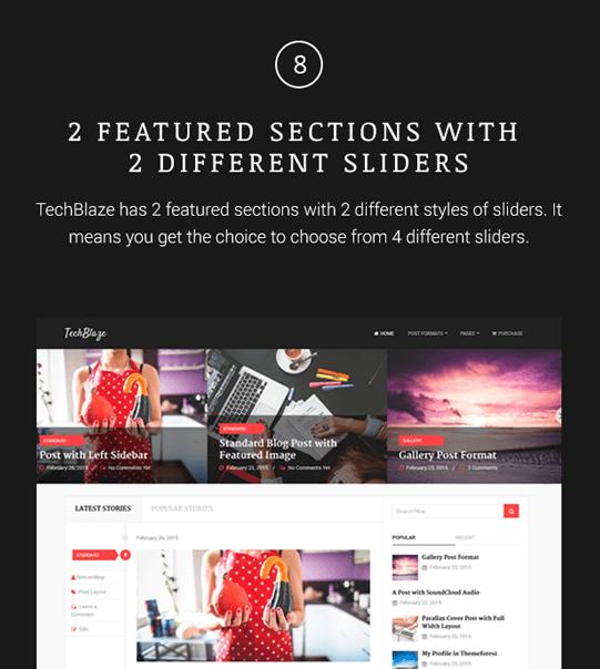 TechBlaze - Professional WordPress Blog Theme - 8