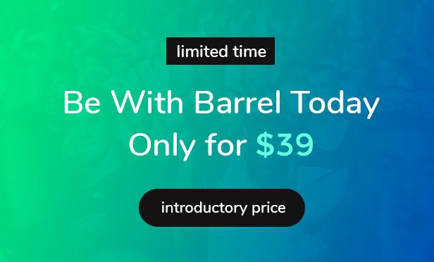 Barrel Sale