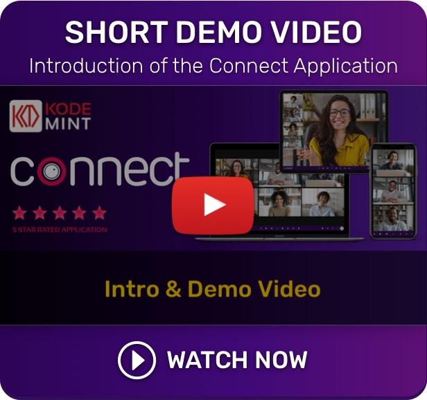Connect - Demo Video - Live Class, Meeting, Webinar, Online Training