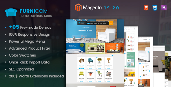 Best Free and Premium Magento 2.1 Themes in 2016 - Furnicom
