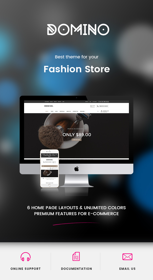 Domino - Fashion Responsive WordPress Theme 38