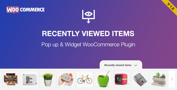 Recently Viewed Products for WooCommerce - CodeCanyon Item for Sale