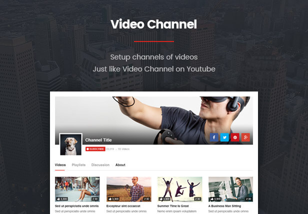VideoPro - Video WordPress Theme - 17