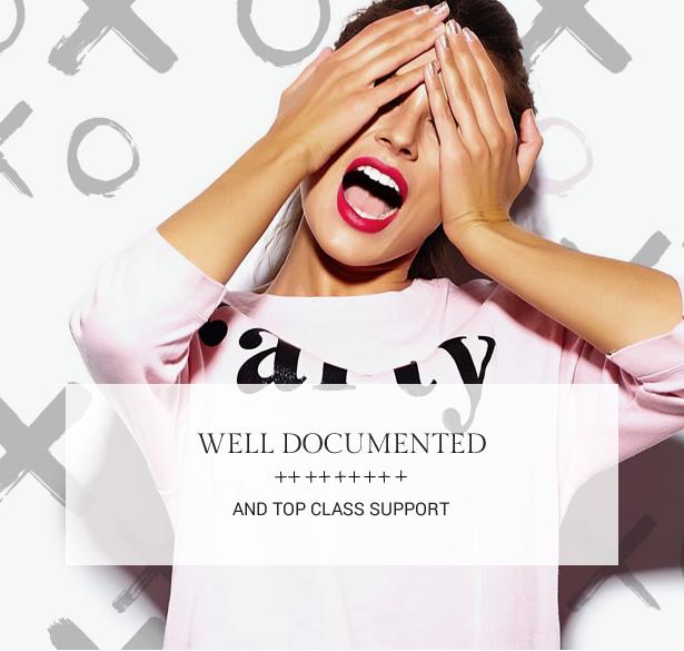 inVogue - WordPress Fashion Shopping Theme - 9