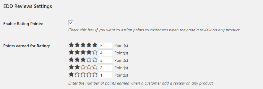 Easy Digital Downloads - Points and Rewards - 1