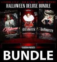 Halloween Bundle Deluxe (Flyer Template 4x6) photo HalloweenDeluxeBundle_zps3ad00fed.jpg