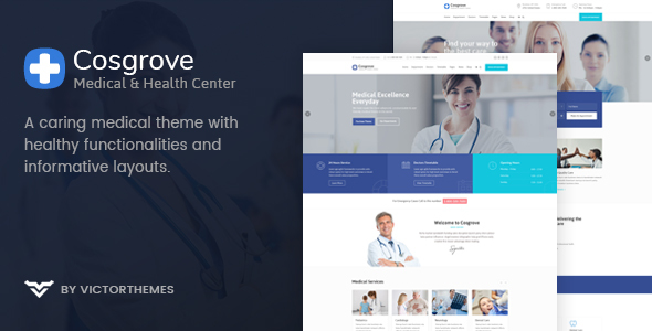 Cosgrove - Medical & Healthcare WordPress Theme