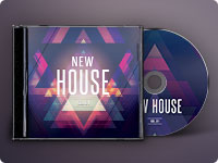 New House CD Cover