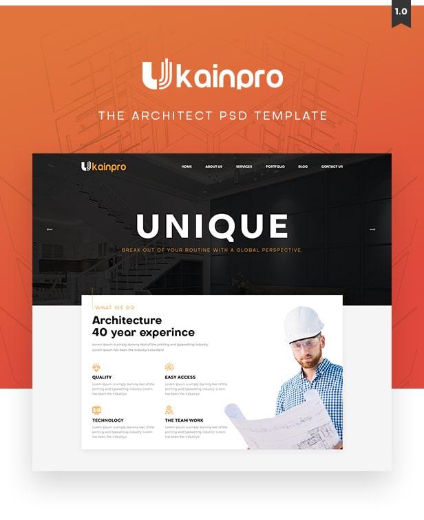 Ukainpro Multi Purpose Template