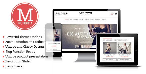 Munditia - Responsive PrestaShop Theme
