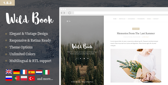 The Lifestyle - Vintage, Minimal and Simple WordPress Blog Theme - 2