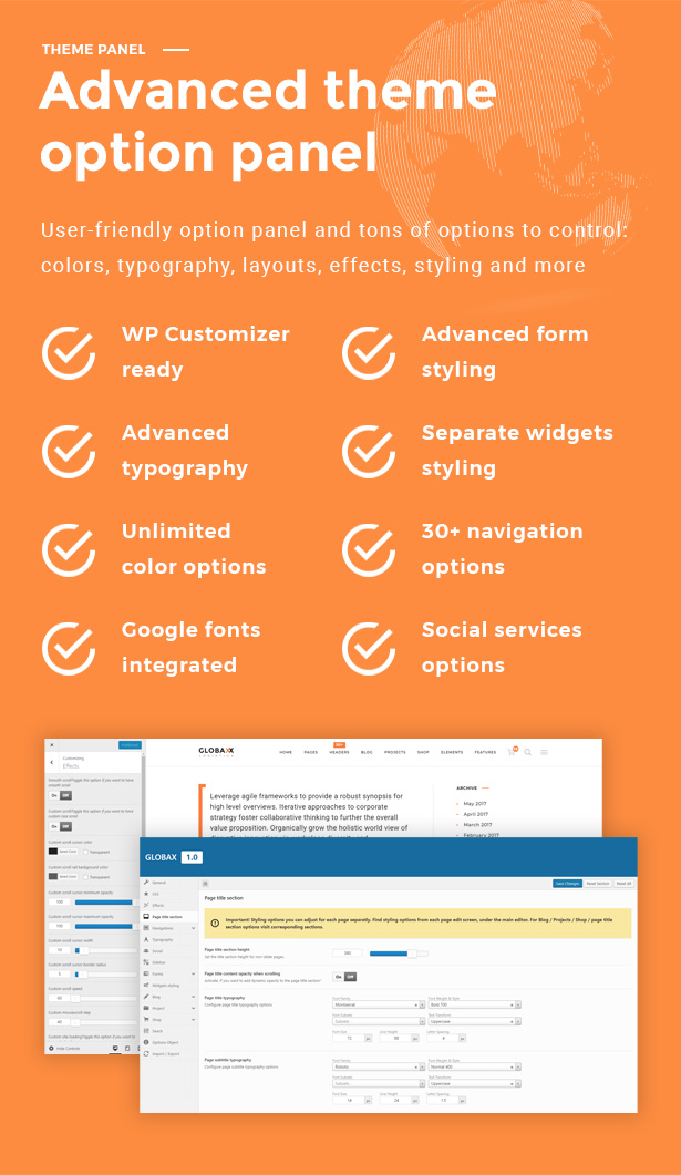 Globax - Logistics WordPress Theme + Woocommerce - 9