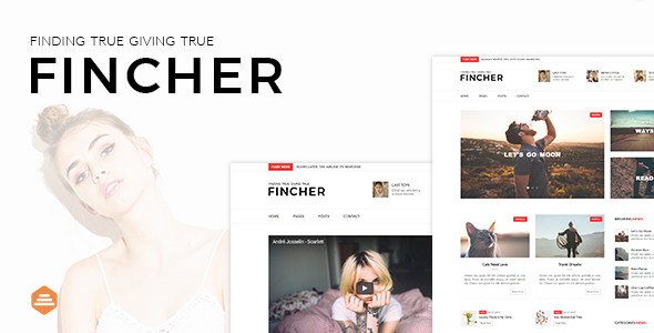 Hanfin - Personal & Clean Blog Template - 1
