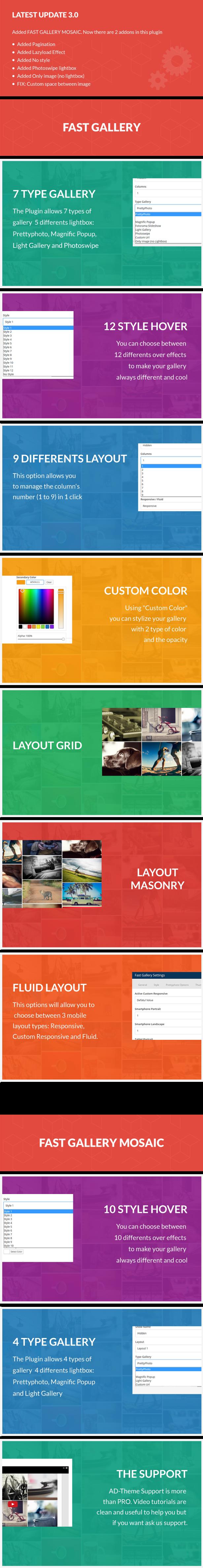 Fast Gallery for Visual Composer Wordpress Plugin - 1