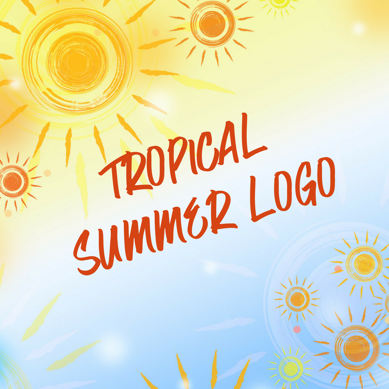 Tropical Summer Logo - 1