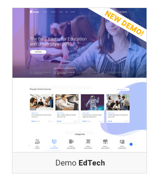 Education WordPress theme - Edtech